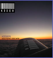Keser Esoteric Escape CD Art Work Cover