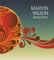 Marvin Wilson Being There CD cover artwork